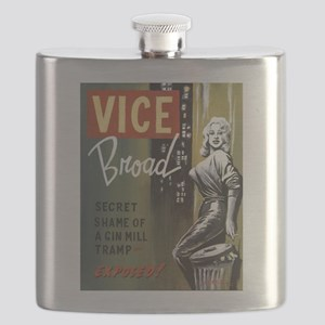 Vice Broad Flask