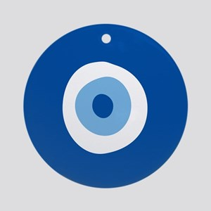 Blue Eye Ornament (Round)