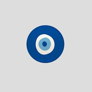 Blue Eye Mini Button