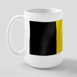 Pure Flag of Belgium Large Mug