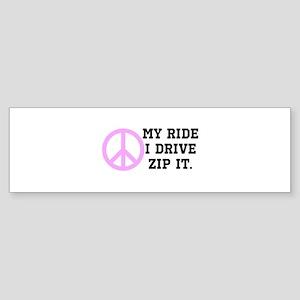 Backseat Drivers 2 Sticker (Bumper)