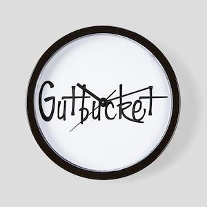 Gutbucket Wall Clock