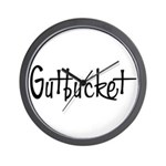 Gutbucket Wall Clock