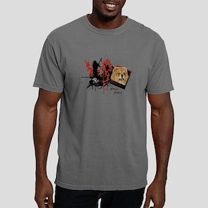 2-chow Mens Comfort Colors Shirt