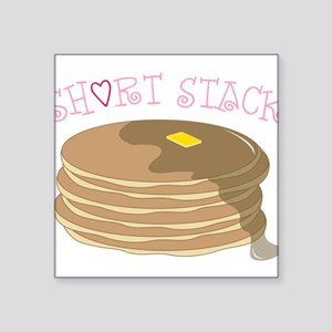 "Short Stack Square Sticker 3"" x 3"""