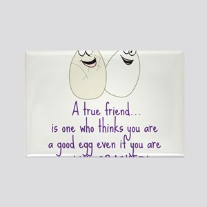 A True Friend Rectangle Magnet