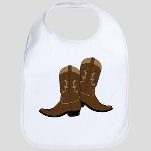Cowboy Boots Bib