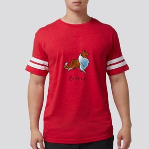 2-illustrated Mens Football Shirt