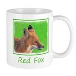 Red Fox 11 oz Ceramic Mug