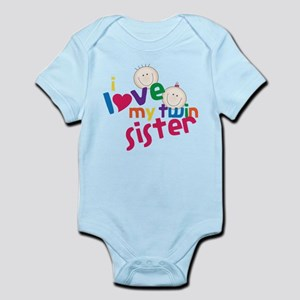 Love My Twin Infant Bodysuit