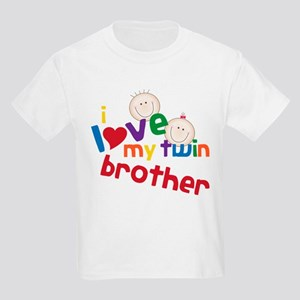 Love My Twin Kids Light T-Shirt