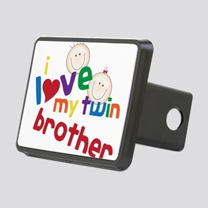 Love My Twin Rectangular Hitch Cover