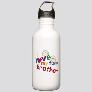 Love My Twin Stainless Water Bottle 1.0L