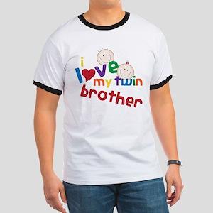 Love My Twin Ringer T