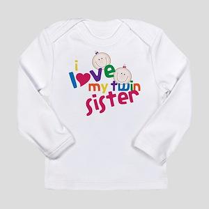Twin Sister Long Sleeve Infant T-Shirt