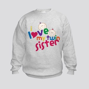 Twin Sister Kids Sweatshirt