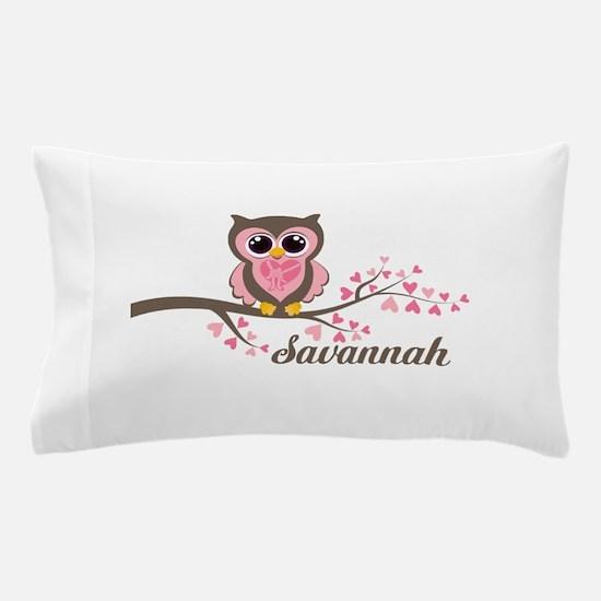 Custom Valentines Day owl Pillow Case