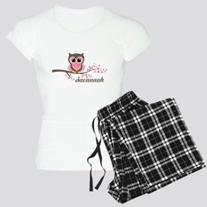 Custom Valentines Day owl Women's Light Pajamas