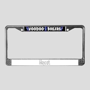 Hepcat License Plate Frame