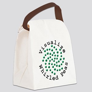 Visualize Whirled Peas 2 Canvas Lunch Bag
