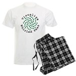Visualize Whirled Peas 2 Men's Light Pajamas