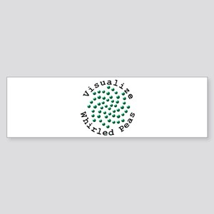 Visualize Whirled Peas 2 Sticker (Bumper)
