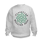 Visualize Whirled Peas 2 Kids Sweatshirt