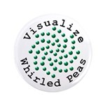"""Visualize Whirled Peas 2 3.5"""" Button"""