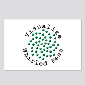 Visualize Whirled Peas 2 Postcards (Package of 8)