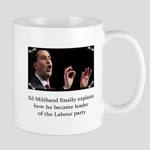 Ed miliband explains how he became leader Mug