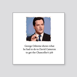 George Osborne on how he became Chancellor Square