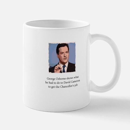 George Osborne on how he became Chancellor Mug