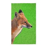 Red Fox Area Rug