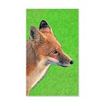 Red Fox 20x12 Wall Decal