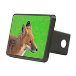 Red Fox Rectangular Hitch Cover