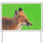 Red Fox Yard Sign