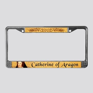 Catherine Of Aragon License Plate Frame