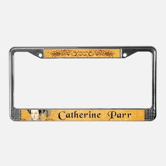 Catherine Parr License Plate Frame