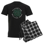 Visualize Whirled Peas 2 Men's Dark Pajamas