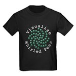 Visualize Whirled Peas 2 Kids Dark T-Shirt