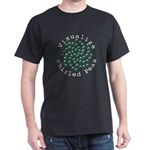 Visualize Whirled Peas 2 Dark T-Shirt