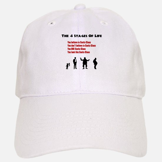 Four Stages of Life Baseball Baseball Cap