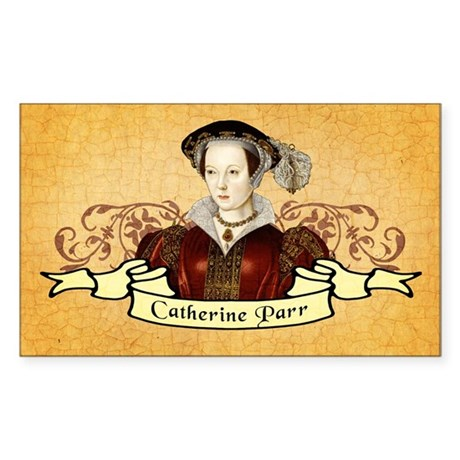Catherine Parr Sticker (Rectangle)