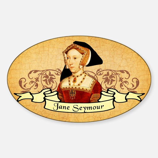 Jane Seymour Sticker (Oval)