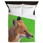 Red Fox Queen Duvet