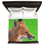 Red Fox King Duvet