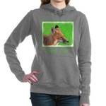 Red Fox Women's Hooded Sweatshirt