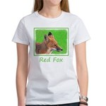 Red Fox Women's Classic White T-Shirt
