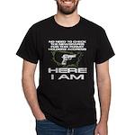 Here I Am Camouflage Nation Dark T-Shirt