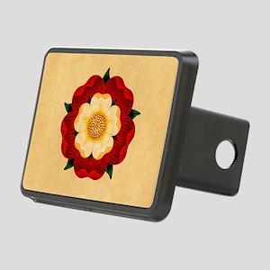 Tudor Rose Rectangular Hitch Cover